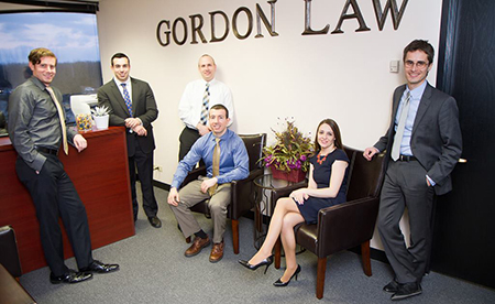 picture of the Gordon Law Group Team